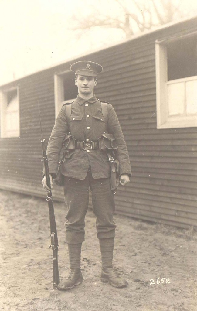 RC Sherriff in uniform after enlisting c 1916 2332_Box12 (2)